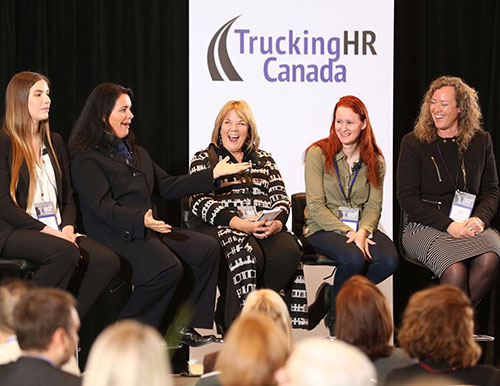 Panel at Trucking HR Canada conference